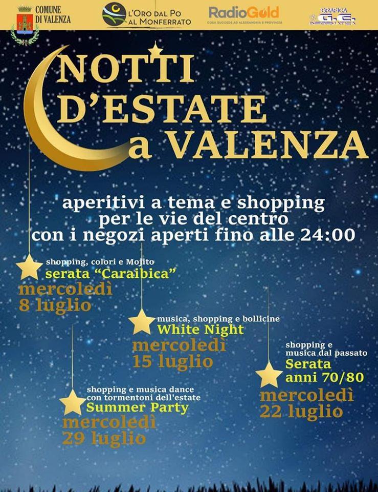Notti d'estate a Valenza